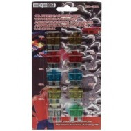 10-PIECE CAR FUSE SET WITH INDICATOR LIGHT SET (7.5 - 30A)