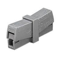 LIGHTING SERVICE CONNECTOR, GREY