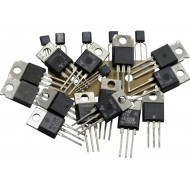 Triac assortment, approx. 20 pcs mixed