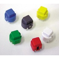 KEY SWITCH SQUARE D6 WHITE