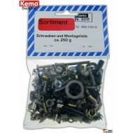 Screws + accessories ca.250g