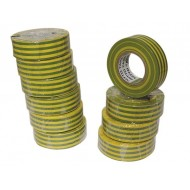 INSULATION TAPE GREEN/YELLOW 19mm x 10m