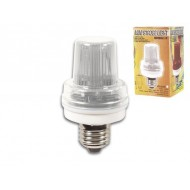 MINI LAMPE FLASH BLANC, 3.5W, DOUILLE E27