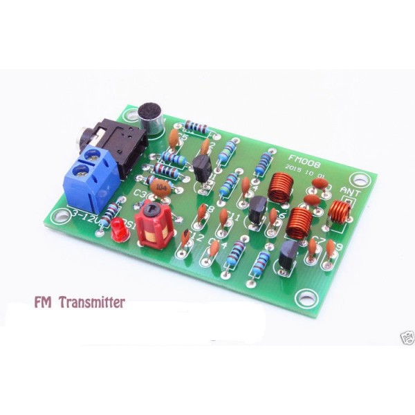 Transmetteur Radio 76-110MHz 30M FM DIY MP3 Audio Wireless Module émetteur