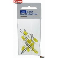 LED Ø 5mm yellow approx. 10 pieces