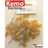 LED Ø 5 mm yellow approx. 50 pieces