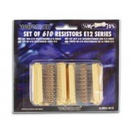 SET OF 610 RESISTORS (E12-SERIES)