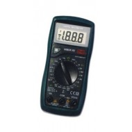 Multimeter with 19 ranges of measurement