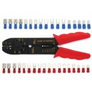 80-PC TRAY CARD WITH CRIMPING TOOL