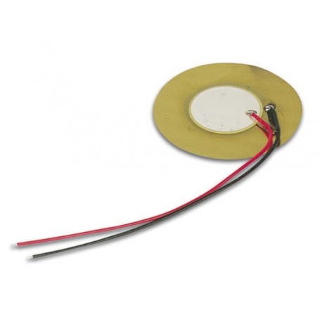 PIEZO TRANSDUCER 30Vac 0.5-20Hz 75dB LEAD TYPE