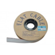 FLAT CABLE 10 CONDUCTORS GREY, 1 m