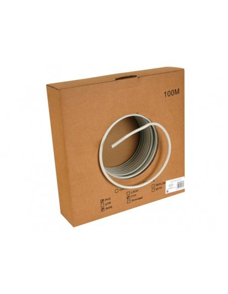 FTP CABLE, CAT6, 4 x 2 x 0.57mm, 4 TWISTED PAIRS, LENGTH : 1m