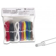 MOUNTING WIRE KIT - 10 COLOURS - 60m - MULTICORE