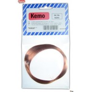 Enamelled copper wire 0,1mmØ 140m