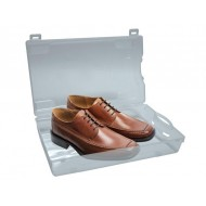 TRANSPARENT PLASTIC SHOE BOX