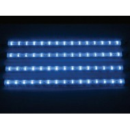 DECORATIVE LED STRIP - 4 pcs - 12V - BLUE