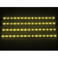 DECORATIVE LED STRIP - 4 pcs - 12V - YELLOW