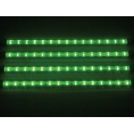 DECORATIVE LED STRIP - 4 pcs - 12V - GREEN