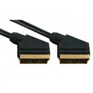 VIDEO CABLE - SCART MALE TO SCART MALE, 1.5m
