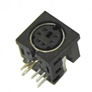 FEMALE angled MINI DIN 6 pin - PCB