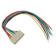 BOARD TO WIRE CONNECTOR - FEMALE - 2 CONTACTS / 20cm