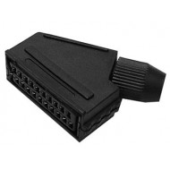 21-PIN SCART PLUGS - FEMALE
