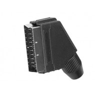 21-PIN SCART PLUGS - MALE