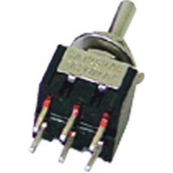 8012AC - VERTICAL TOGGLE SWITCH DPDT (ON)-OFF-(ON) - PCB TYPE