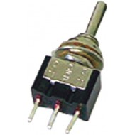 8014AC - VERTICAL TOGGLE SWITCH SPDT (ON)-OFF-(ON) - PCB TYPE