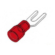 FORKED SPADE RED 4.3mm