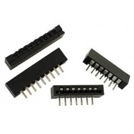 MEMBRANE KEYBOARD CONNECTOR - SIDE ENTRY - 10 CONTACTS