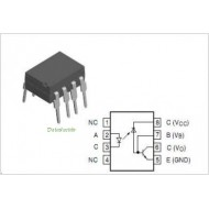 6N136 - OPTO ISOLATOR WITH TRANSISTOR OUTPUT