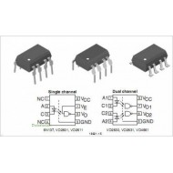 6N137 - OPTO ISOLATOR WITH TRANSISTOR OUTPUT