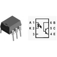 CNX83A - OPTO ISOLATOR WITH TRANSISTOR OUTPUT