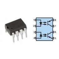 CNY74-2 - MULTICHANNEL OPTO ISOLATOR WITH TRANSISTOR OUTPUT