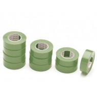 INSULATION TAPE GREEN 19mm x 10m
