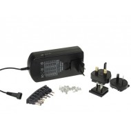 SWITCHING POWER SUPPLY 36W WITH SELECTABLE OUTPUT 5 TO 24VDC