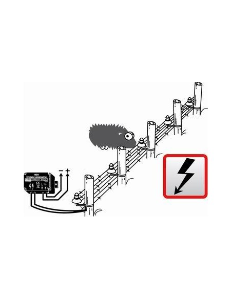 Mini Fence High Voltage Generator