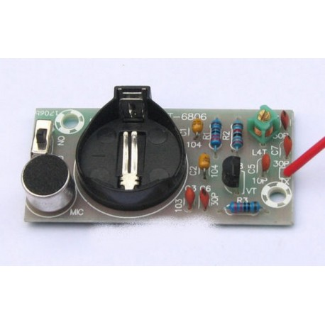 80MHz-108MHz Fm Radio Transmitter Radio wireless microphone module
