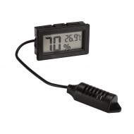 DIGITAL HYGROMETER/THERMOMETER FOR PANEL MOUNTING