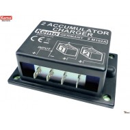 Second battery charger 6 - 24 V/DC