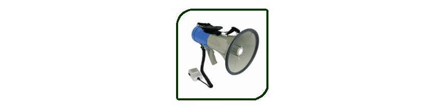 MEGAPHONES | Buy / sale | Leisure articles discount, Games, camping accessories, car and Gadgets | Enovatera.com