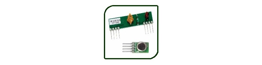 TRANSMITTER - RECEIVER MODULES | Electronic Components | Buy / Sell | Enovatera