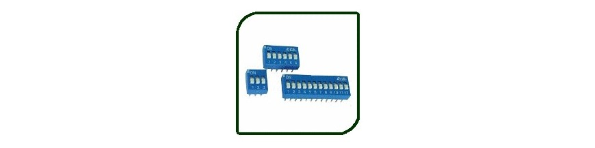 DIP SWITCHES | Electronic Components | Buy / Sell | Enovatera