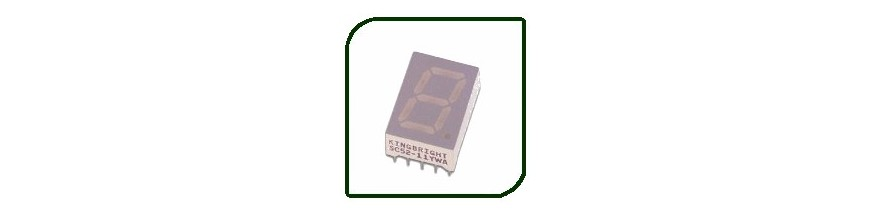 SINGLE-DIGIT DISPLAYS | Electronic Components | Buy / Sell | Enovatera