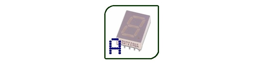 SINGLE-DIGIT DISPLAYS COMMON ANO | Electronic Components | Buy / Sell | Enovatera