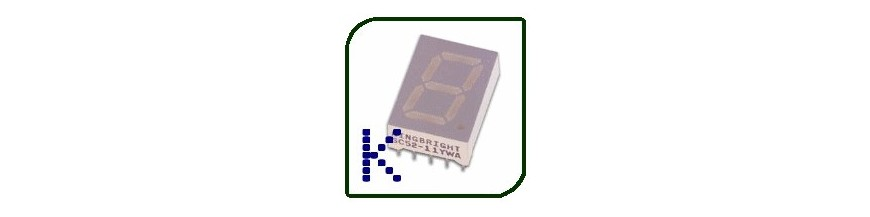 SINGLE-DIGIT DISPLAYS COMMON CAT | Electronic Components | Buy / Sell | Enovatera