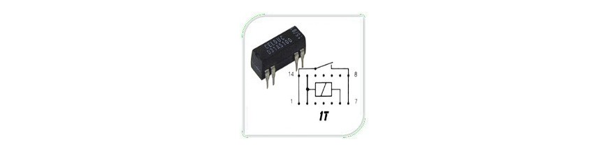 REED RELAYS 1 T | Electronic Components | Buy / Sell | Enovatera