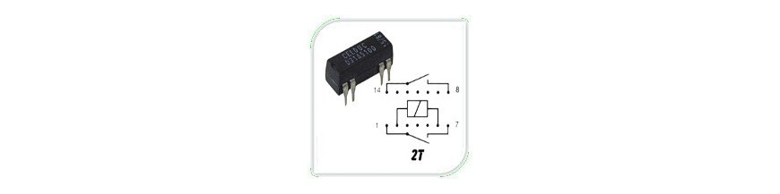 REED RELAYS 2 T | Electronic Components | Buy / Sell | Enovatera